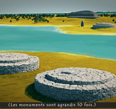 A quoi ressemblait le paysage à l'époque ?